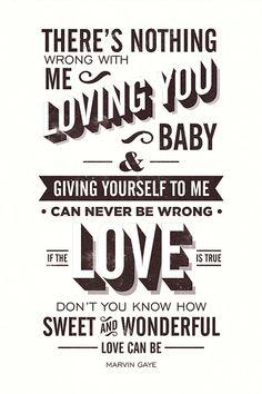 Let's Get It On Marvin Gaye Lyrics by twenty21onecreative
