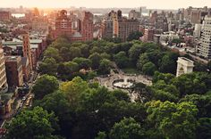 Washington Square Park, de facto campus of NYU #NYU #NewYorkUniversity