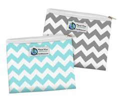 Planet Wise snack + sandwich bags | Made in USA school lunch gear