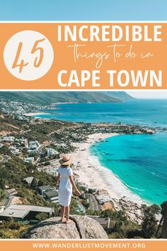 On the hunt for the top things to do in Cape Town, South Africa? Call off the search! Here is a detailed guide that lists all the free, romantic, adventurous, unusual, cheap, unique and secret things to do in Cape Town. Get inspiration for your Cape Town bucket list and add some exciting activities to your Cape Town itinerary! #capetown #southafrica #travelguide #traveltips #tablemountain #lionshead #bokaap