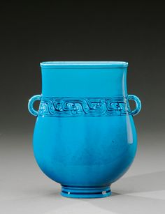 1000 images about deck th odore french potter on pinterest decks vase an - Vasque bleu turquoise ...