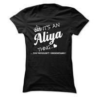 Its An Aliya Thing
