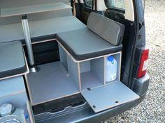 Mini camper conversion unit/caddy,berlingo,parner in Donegal, thumbnail 4