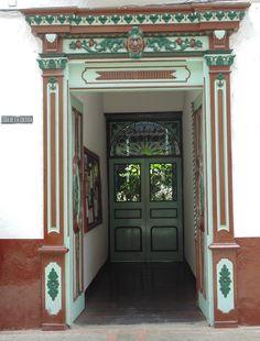 Casa de la Cultura Rodrigo Jiménez Mejía. Salamina, Caldas, Colombia.