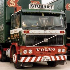 Volvo Cars, Volvo Trucks, Eddie Stobart Trucks, Commercial Vehicle, Vintage Trucks, Classic Trucks, Heavy Equipment, Fiat, Race Cars