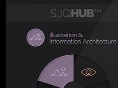 SJQHUB™ // Visual Data infographics on Behance
