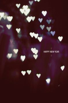 New Year Love!
