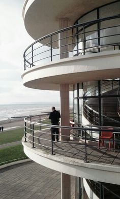 De La Warr Pavilion Bexhill Seaside Getaway, Pavilion, Places Ive Been, Stairs, Life, Home Decor, Stairways, Homemade Home Decor, Ladder
