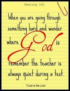 God is always near!