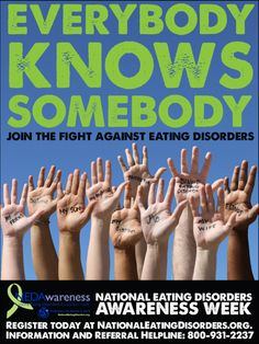 Eating disorders affect 65% of women and girls in the US