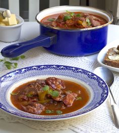 Chipotlesuppe med langtidskokt svin Chorizo, Chili, Soup, Chilis, Soup Appetizers, Soups, Chile