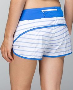 run speed short //2 way//deauville stripe pipe dream blue white/pipe dream blue