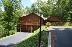 True QUALITY BUILT CABIN IN THE GA MOUNTAINS! This SPACIOUS 4 bed/ 4 bath home offers 3 large master suites, 1.32 acres of privacy with a small branch, 2 greatrooms, custom built in book shelves, 2 fireplaces, 2 kitchens, stainless appliances, granite counters, central vac., 2 large laundry rooms, 2 large screened in porches, loft area, tons of storage, 2 car carport and a parking area for the lower level. For more information email info@bestmountaindeals.com.