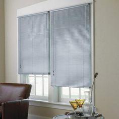 Spectra High Gloss Vinyl Mini Blinds for sale online Arched Windows, Blinds For Windows, Blinds For Sale, Vinyl Mini Blinds, Best Blinds, Bathroom Window Treatments, Horizontal Blinds, Blue Granite, Shades Blinds