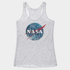 NASA Space Agency Ultra-Vintage by lidra