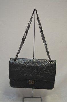 Chanel Reissue 2.55 Size 226 Shoulder Bag  4 f0e124dead5