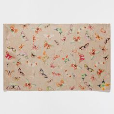 BUTTERFLY DIGITAL PRINT RUG - Rugs - Decoration | Zara Home United States of America