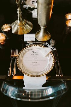 These Gatsby Wedding Ideas are Perfect for Your Vintage Glam Day