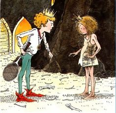 """""""Ronald,"""" said Elizabeth, """"your clothes are really pretty and your hair is very neat.  You look like a real prince, but you are a bum.""""    They didn't get married after all.""""     The Paper Bag Princess"""