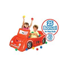 Little Tikes Sports Car Play Center Ball Pit Value Pack