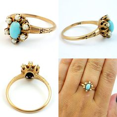 cant get enough of turquoise rings