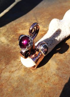 Swan Ring of SamovilaOOAK handmade artisan by TheSilverCrucible, $300.00