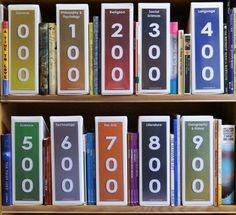 library shelf organization - Google Search