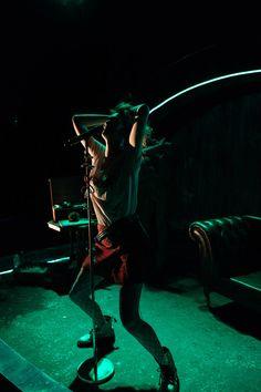 MEDUSA, Nuffield Southampton Theatres 2018. Dir: Ian Nicholson, Des: Jasmine Swan, LD: Jess Bernberg