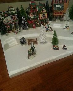 Village Display Base Platform Dept 56 Lemax CIC Dickens LARGE W97