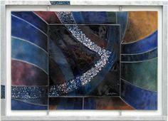 Emaille-Kunst wandpaneel: reizen-in-de-nacht: Gre Dubbeldam