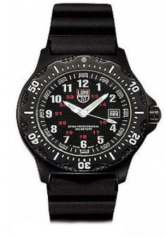 Luminox Mens Black Ops Aviator Watch - Date - Rubber Strap - Retired Rolex Watches For Sale, Watches For Men, Tritium Watches, Ayo And Teo, Gas Lights, Black Aviators, Stainless Steel Screws, Rolex Gmt, Black Ops