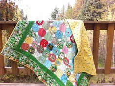 Hideaway Folk Family Quilt by CoraQuilts~Carla, via Flickr