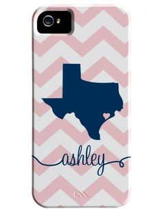 So stinking cute!!!!! Need this ASAP!!!! Texas love at its best :) I think I like the grey chevron and pink option :)