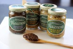 Tracklements Wholegrain Mustard... The original and the best #Tracklements #Mustard #Balsamic
