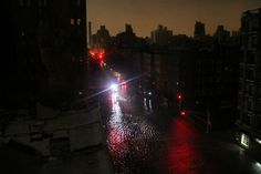 Photos of Last Night's Storm Surge in Chelsea