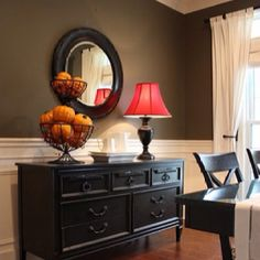 need to find a round mirror for above my dining room hutch!
