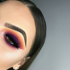 eye makeup looks blue eyes Makeup Eye Looks, Eye Makeup Art, Cute Makeup, Gorgeous Makeup, Pretty Makeup, Skin Makeup, Eyeshadow Makeup, Purple Eyeshadow, Glam Makeup