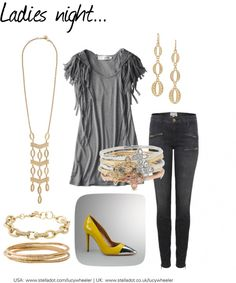 """""""Ladies night..."""" by glwheeler on Polyvore"""