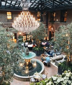 The 10 Most Instagrammable Spots in Chicago #theeverygirl Resoration Hardware's 3 Arts Club Cafe