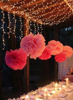 Under the Stars Tween Teen Outdoor Birthday Party Planning Ideas Decor - Kathryn b-day idea