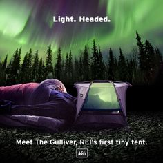 This changes everything. The era of the tiny tent has arrived! Check REI.com for all the details. #tinytent