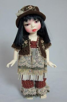 Warm and Fuzzy Outfit For Yo-SD BJDs by Kimberly Lasher