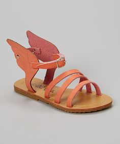 Love this Pink Sophie Sandal by QQ Girl on #zulily! #zulilyfinds