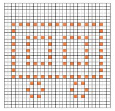 Train Car Bobble Chart ~ free pattern ᛡ