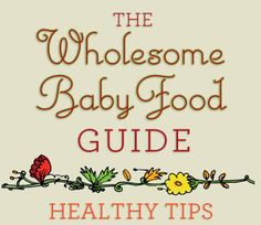 A must read for parents wanting to feed their little ones real food!