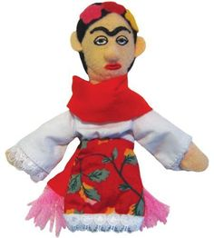 Frida Kahlo Finger Puppet