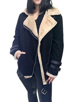 OMZIN Women's Casual Jacket Zipper Lapel Winter Thick Moto Jacket Coat Plus Size - best woman's fashion products designed to provide Coats For Women, Jackets For Women, Plus Size Casual, Women's Casual, Plus Size Winter, Thing 1, Plus Size Coats, Moto Jacket, Winter Coat