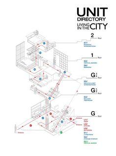 Architecture Collage, Architecture Portfolio, School Architecture, Architecture Plan, Signage Design, Map Design, Floor Plan Symbols, Conceptual Drawing, Diagram Design
