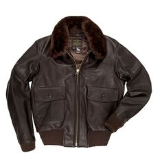 Shop our Men s Flight Jacket with Removable Collar (LONG) at Cockpit USA.  Authentic, all-american apparel since 984f6213b5