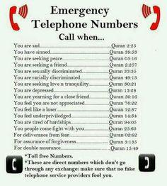 Emergency number